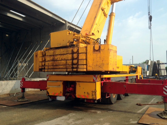 Used Grove Cranes : Used crane gt grove gmk for sale