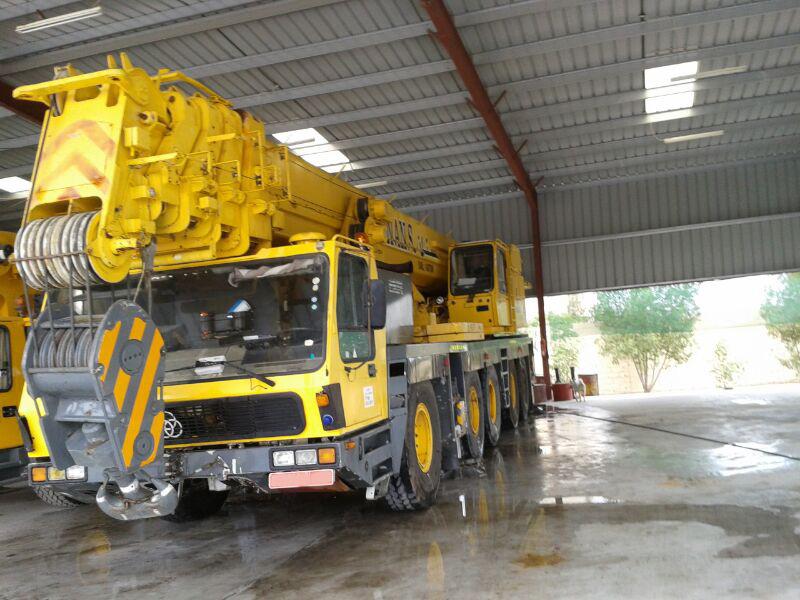 used crane krupp kmk 5160